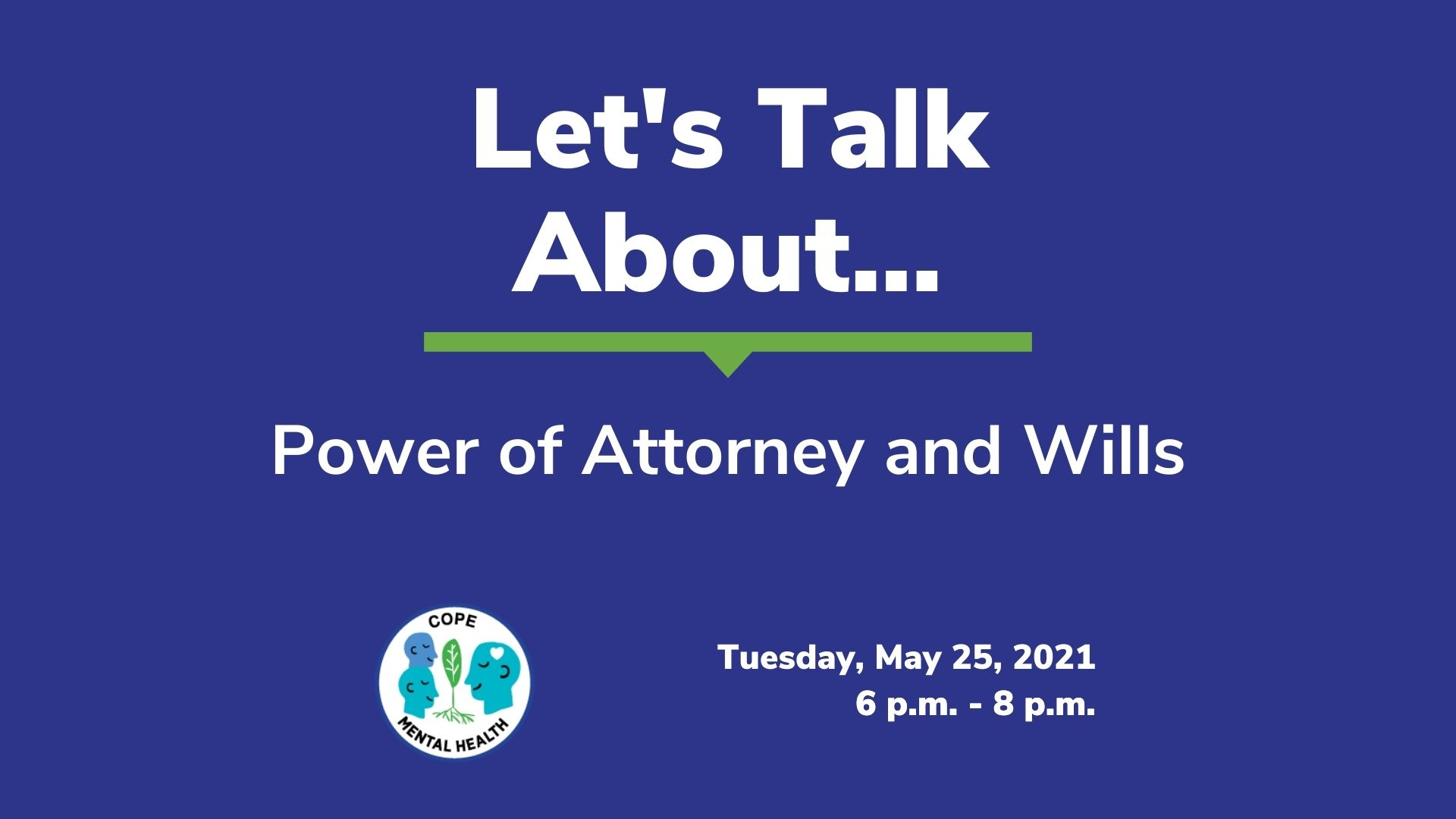 Let's Talk About Power of Attorney and Wills